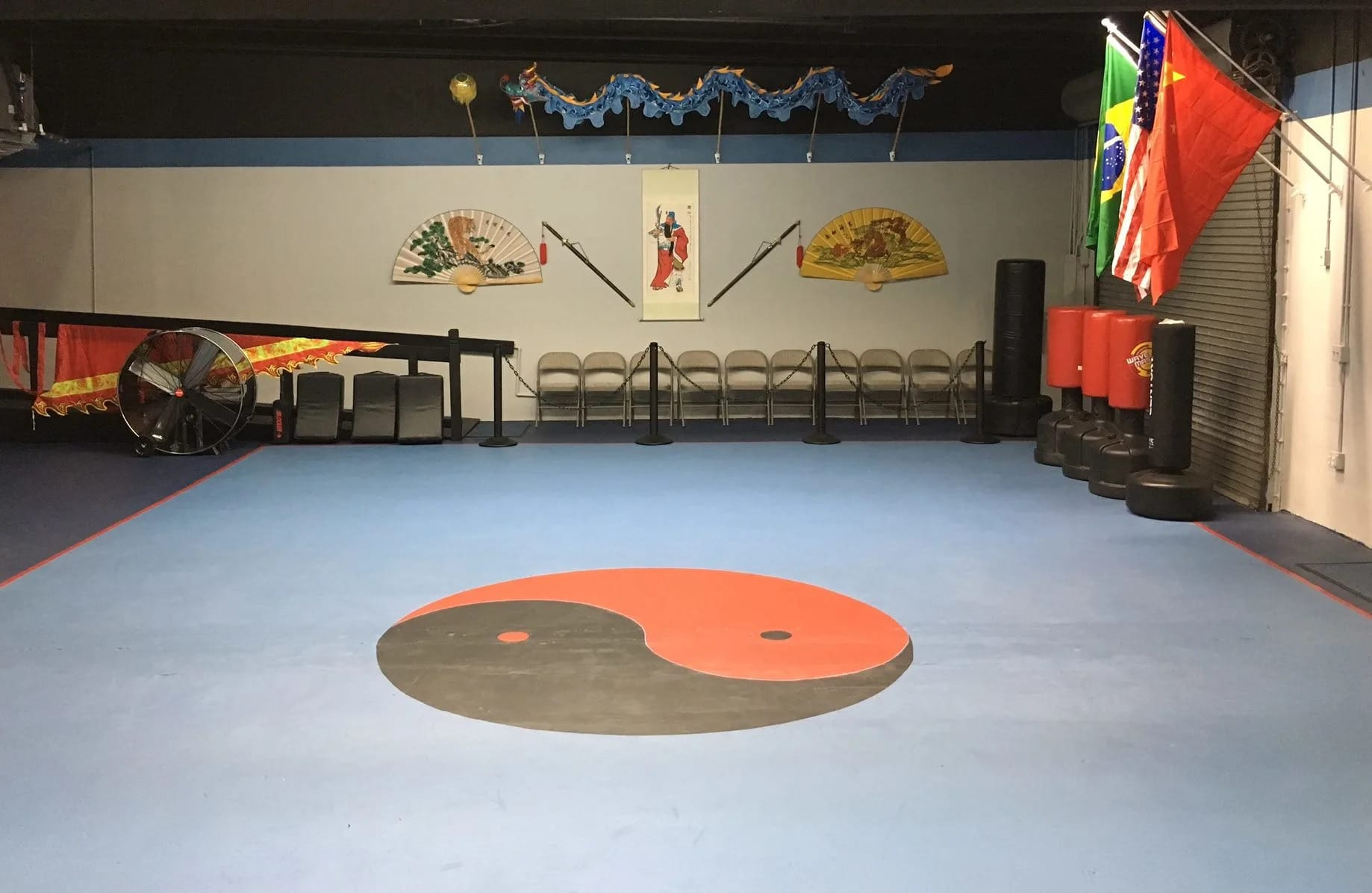 Interior of Kung Fu Connection Kung Fu School in Coral Springs, Florida