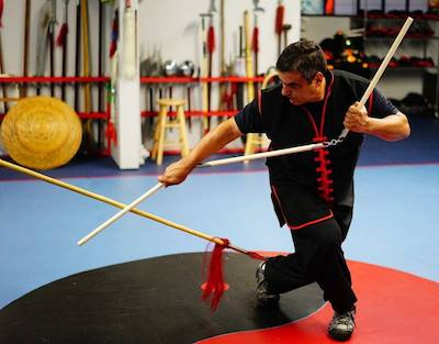 Spear vs. 3-Section Staff | Adult Martial Arts Classes | Coral Springs, FL