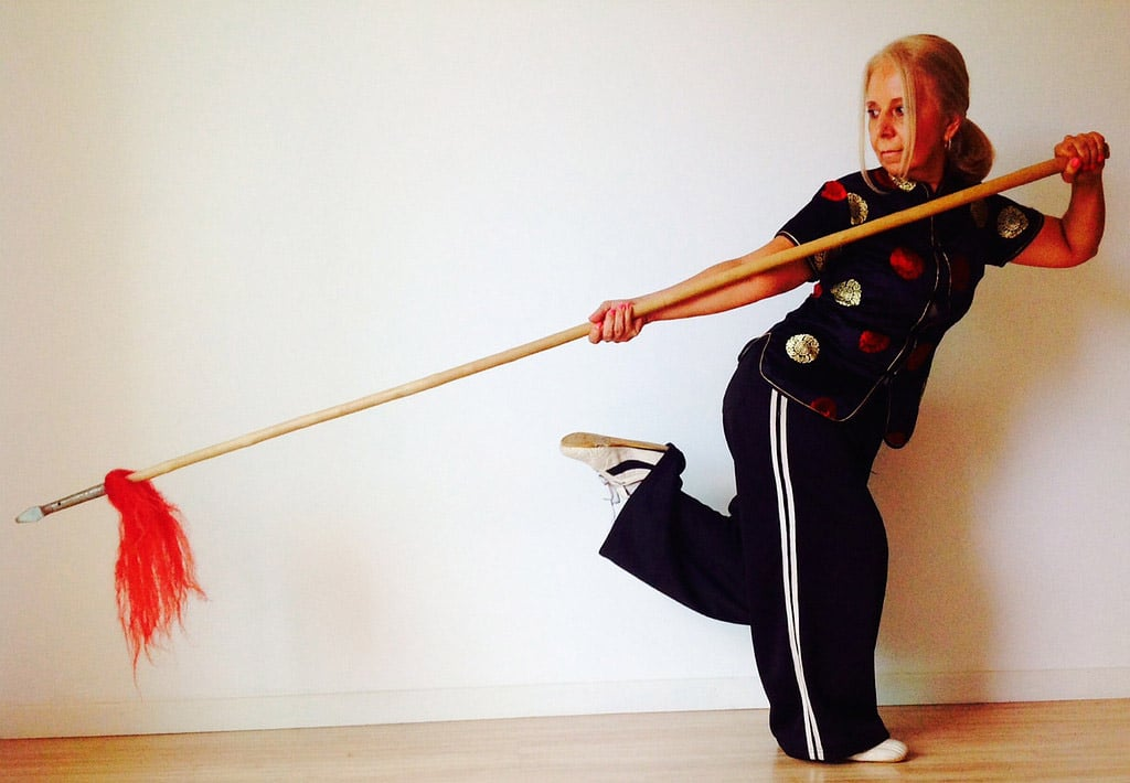 Spear Practice | Adult Kung Fu Classes | Coral Springs, Florida