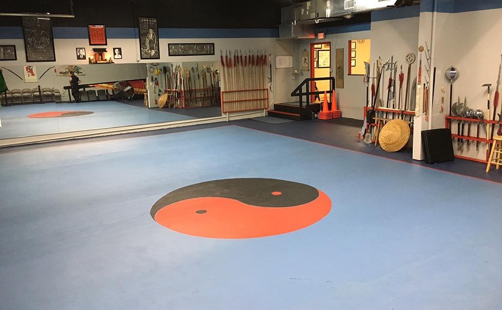 Kung Fu Connection School Interior in Coral Springs, Florida