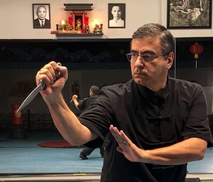 Northern Shaolin Kung Fu Master Roberto Baptista | Single Dagger Form | Coral Springs, Florida